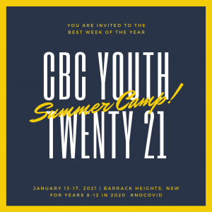 CBC YOUTH Summer Camp 2021