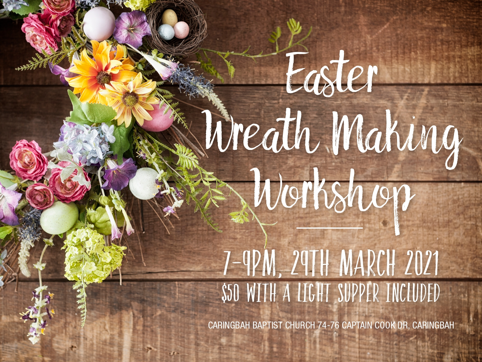 CBC Easter Wreath Making Workshop